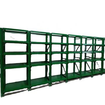EU Standard Angle Steel Industrial Warehouse Storage Shelf