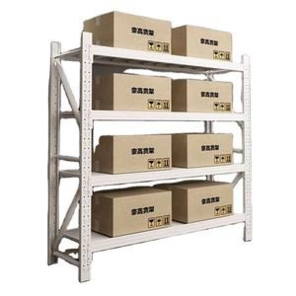 Heavy Duty Stackable Adjustable Metal Textile Fabric Rolls Storage Steel Pallet Racks #2 image