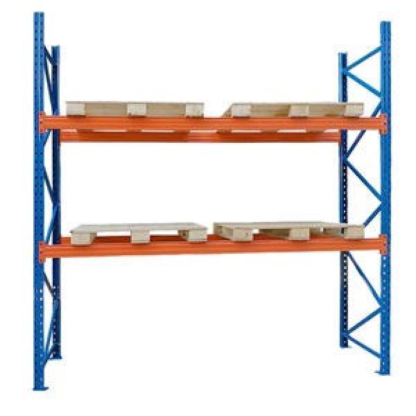 Heavy Duty Stackable Adjustable Metal Textile Fabric Rolls Storage Steel Pallet Racks #3 image