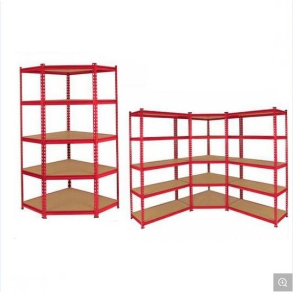 Classics Commercial Grade 5 Tier Steel Wire Shelving Chrome Rack Unit in Work Place #3 image