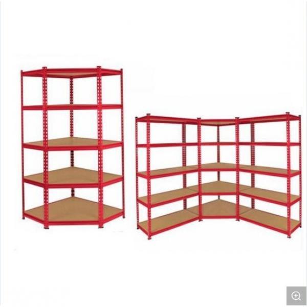 Multifunction 5 Tiers Freestading Storage Rack Adjustable Chrome Steel Wire Shelving Unit #2 image