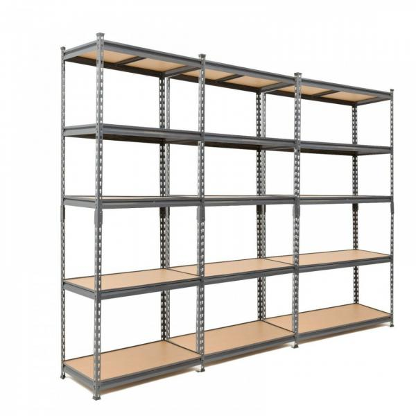 Storage Rack 5 Level Adjustable Shelves Garage Steel Metal Shelf Unit #3 image