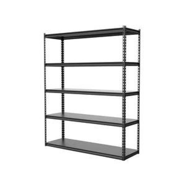 Adjustable 4 Tiers Commercial Heavy Duty Steel Warehouse Cargo Storage Wire Rack Shelf #2 image