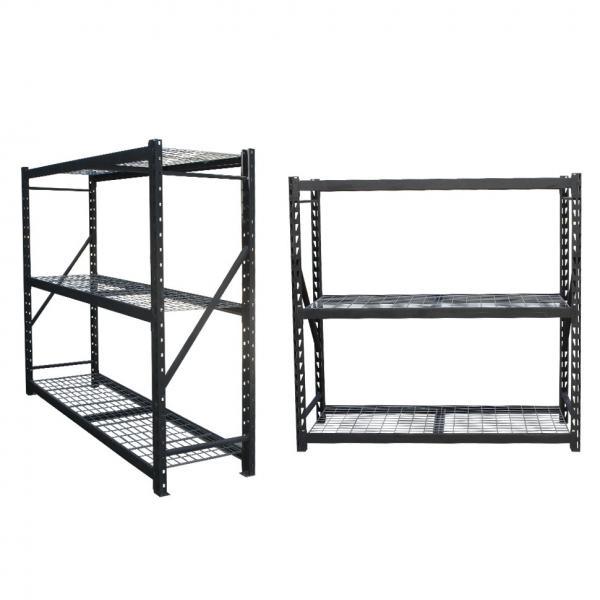 Supermarket Warehouse Household Wire Mesh Display Storage Shelf #3 image