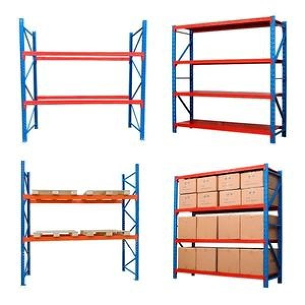 Supermarket Store Gondola Metal Storage Display Equipment Stand Shelf Rack #2 image