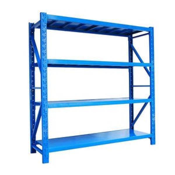Garage Storage Economical Medium Duty Steel Long Span Shelving Warehouse Storage Rack #3 image