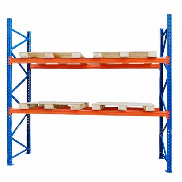 Heavy Duty Warehouse Storage Pallet Shelving with Wire Mesh Decking #2 image