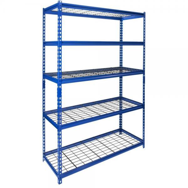 Supermarket Warehouse Household Wire Mesh Display Storage Shelf #1 image