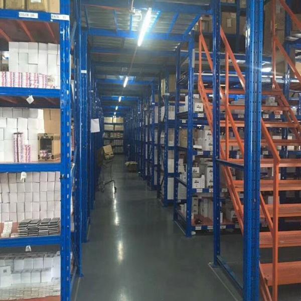 Industrial Warehouse Storage Steel Light Duty Metal Rack Metal Boltless Shelving #2 image