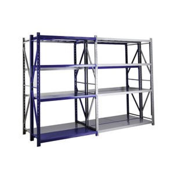 Supermarket Store Gondola Metal Storage Display Equipment Stand Shelf Rack #1 image