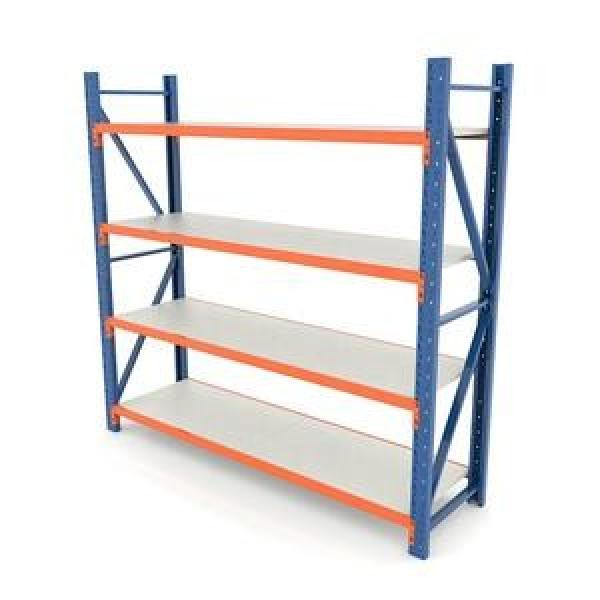 Supermarket Store Gondola Metal Storage Display Equipment Stand Shelf Rack #3 image