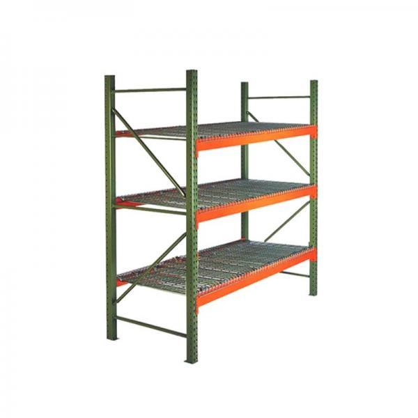 Supermarket Warehouse Household Wire Mesh Display Storage Shelf #2 image